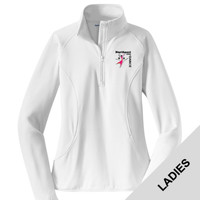 LST850 - N263-S2.0-2017 - EMB - Ladies Wicking 1/2 Zip Pullover